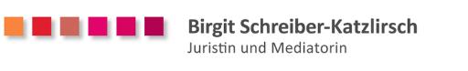 Schreiber-Katzlirsch, Mediatorin und Juristin Karlsruhe